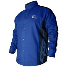 Black Stallion Bsx 9oz Royal Blue Fr Cotton Welding Jacket Medium Bxrb9c