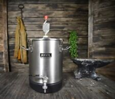 Anvil Brewing Stainless Bucket Fermentor 4 Gallon Conical Bottom Fermenter