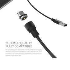 Runde magnetische Aufladung Kabel für Apple Android Micro USB Typ-C