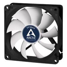 Arctic F9 Silent 9.2cm PC Case Fan - Up to 1000rpm, Fluid Dynamic, Black & White