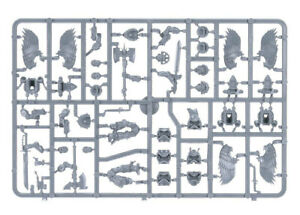 40K Blood Angels Space Marine Sanguinary Guard Bits : Multi Parts Listing