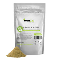 NVS 100% Pure Organic Hemp Protein Powder 50% Isolate USDA nonGMO High Fiber USA