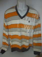 O 'Neill jersey-suéter caballeros-Talla M-Orange blanco estampadas-Sweater-top!