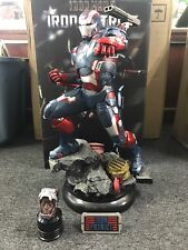 Sideshow Collectibles Marvel Iron Man 3 Iron Patriot 1:4 Maquette #380/3500
