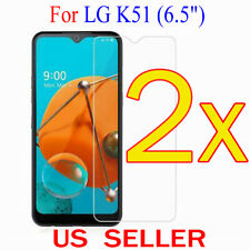 "2x Clear LCD Screen Protector Guard Cover Film For LG K51  (6.5"")"