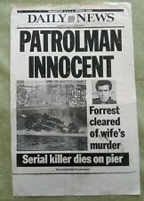 Maniac Cop Prop Daily News Newspaper Cover vintage Photocopy Bruce Campbell '89
