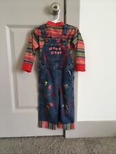 Chucky Costume Toddler Halloween 2t 3t