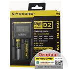 Nitecore D2 Digicharger Li-ion Ni-MH Ni-Cd LiFePO4 18650 AA LCD Battery Charger