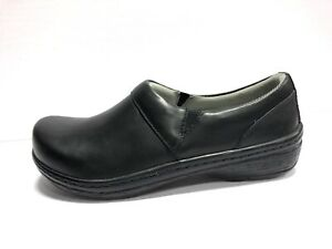Klogs Mace Womens Clogs Black Smooth Size US9 M