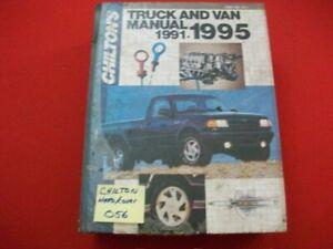 CHILTON'S US, CANADIAN & IMPORT TRUCK, PICKUP & VAN REPAIR MANUAL 4WD 1991-1995