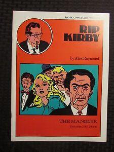 1980 RIP KIRBY The Mangler #3 VF/NM 9.0 Pacific Comics Club Alex Raymond