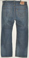 "Excelente Hombres Jeans azul claro Levi Strauss & Co 506 W36"" L30"""