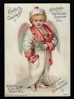 Trade Card - Knox's Castolax, Pullen-Richardsen Chemical Co., St. Louis, MO