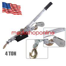 4T Hand Puller Cable Winch Puller Hand Powerful Winch Hoist 8000lb High Quality
