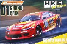 Aoshima 1/24 D 1 Grand Prix HKS Hyper Silvia RS2 Soarer 2.5GT