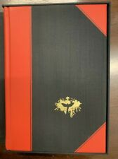 """The Silence of the Lambs Thomas Harris Subterranean Press Signed Lettered """"U"""""""