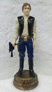 Han Solo, BISHOP Piece, Rebel Alliance STAR WARS 3D CHESS SET Spares SCHACH