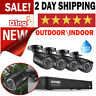 Home Security 4 Camera System With Night Vision Waterproof HD 1080P Outdoor NEW