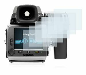 Hasselblad H4D-60 ,  6 x Transparent ULTRA Clear Screen Protector For Hasselblad
