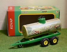 KOVAP 1:25 SCALE 0425 TRAILER TANKER JOHN DEERE FARM TIN TOY