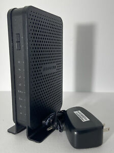 Netgear C3700 Gigabit N600 Dual Band WiFi DOCSIS 3.0 Cable Modem Router Tested