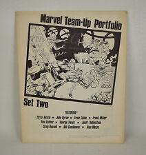 Marvel Team-Up Portfolio Set 2 1981 Spider-Man Avengers John Byrne George Perez