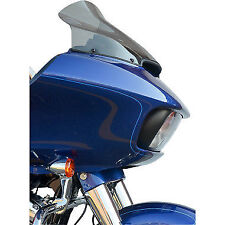 "Klock Werks 12"" Dark Smoke Pro Touring Motorcycle Windshield 15-17 Harley FLTR"
