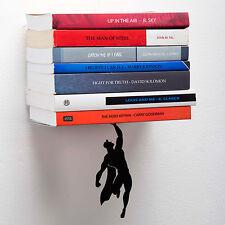 Supershelf-SUPER EROE Libro Scaffale-Nascosto Galleggiante Ripiano Muro SUPERMAN MISTERO