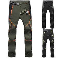 Mens Tactical Trousers Hiking Walking Cargo Combat Casual Long Pants Bottoms US