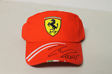 FELIPE MASSA  HAND SIGNED F1 RACING CAP UNFRAMED + PHOTO PROOF & C.O.A