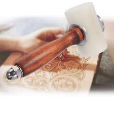 Leder Hammer Rohhauthammer Punzierhammer Werkzeug für Holzbearbeitung Heimwerker