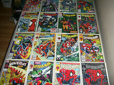 Spider-Man 1-14 Complete Set 1990 Silver Edition Variant Full Run McFarlane Lot