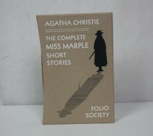 The Complete Miss Marple Short Stories Agatha Christie Folio Society 2009