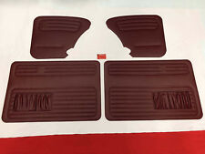 Seitenverkleidung Bordeauxrot VW Käfer ab 66- Türverkleidungen Türtafeln (-640)