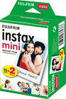 Fujifilm Polaroid Instant Camera Photos Instax Mini Film - Pack Of 20 Shots