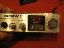 PRESIDENT APX 7 CB RADIO  POWERS UP                   (2)