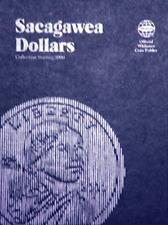 Whitman Sacagawea Dollar Coin Folder Book #1 2000-2008 #8060