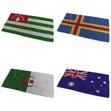 World Flags Wavy Desing Bath Towel ( Variation 1 ) - Small