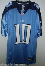 NFL Tennessee Titans Vince Young  10 Home Colors Reebok Jersey Adult XL 0a225825a