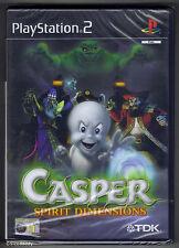PS2 Casper Spirit Dimensions (2001), UK/Dutch Pal, New & Sony Factory Sealed