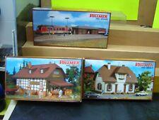 Vollmer HO 3549 , 3657 , 5596 3 versch. Gebäudebausätze im Set
