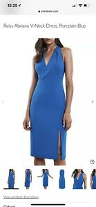 reiss blue dress 12