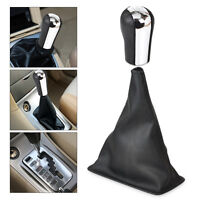 5 Speed Gear Stick Shift Knob + Gaiter Boot Cover For 1998-2009 Toyota Corolla