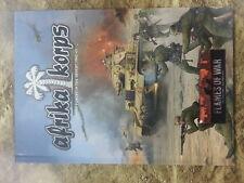 FLAMES OF WAR AFRIKA KORPS HARDBACK ARMY BOOK - NEW
