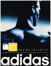 PUBLICITE ADVERTISING  105  1992  ADIDAS  eau de toilette homme