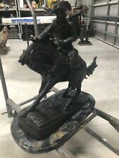 """Cowboy"" Bronze Sculpture by Frederic Remington SIGNED  9/100"