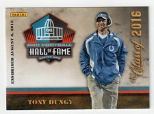 Tony Dungy Panini NFL Pro Football Hall of Fame Class of 2016 Card HOF