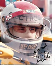 Autographed Michael Andretti CART Indy Car  Racing Photograph
