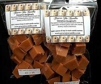 CINNAMON DOUGHNUTS Scented Tart Wax Melt Chunks Home Candle Warmer Fall Scent