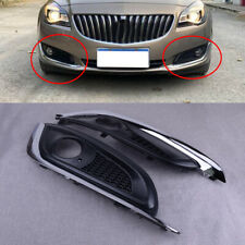 1Pair Left Right Front Bumper Fog Light Lamp Cover Fit for Buick Regal 2014-2016